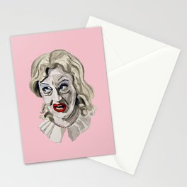 Whatever Happened To Baby Jane? Pink. Stationery Cards