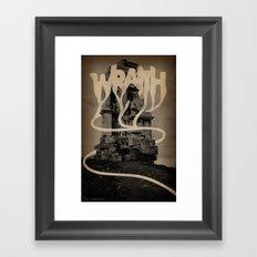 WRAITH - Monument Framed Art Print