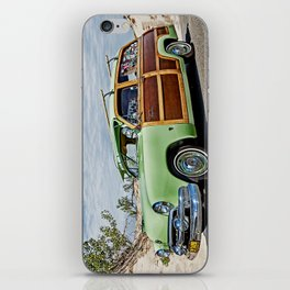 Woodie on the Beach iPhone Skin