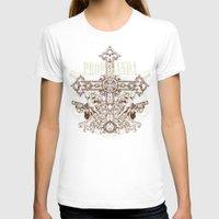 guns T-shirts featuring Crossing guns by Tshirt-Factory