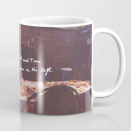Reaching for Time Coffee Mug