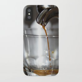 Dripping Coffee iPhone Case