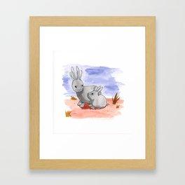 Pygmy Jackalopes Framed Art Print