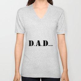 DAD, Do As Directed Unisex V-Neck