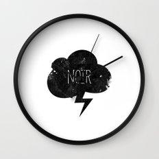 Noir Wall Clock