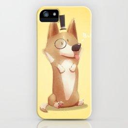 Dapper Corgi iPhone Case