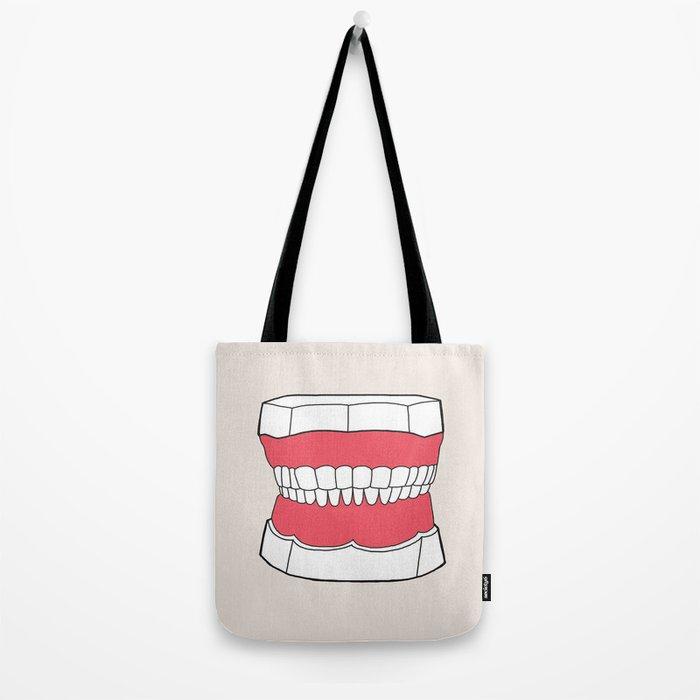 Uzual Teeth Tote Bag