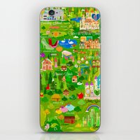 narnia iPhone & iPod Skins featuring Imagine Nation by Kitkat Pecson