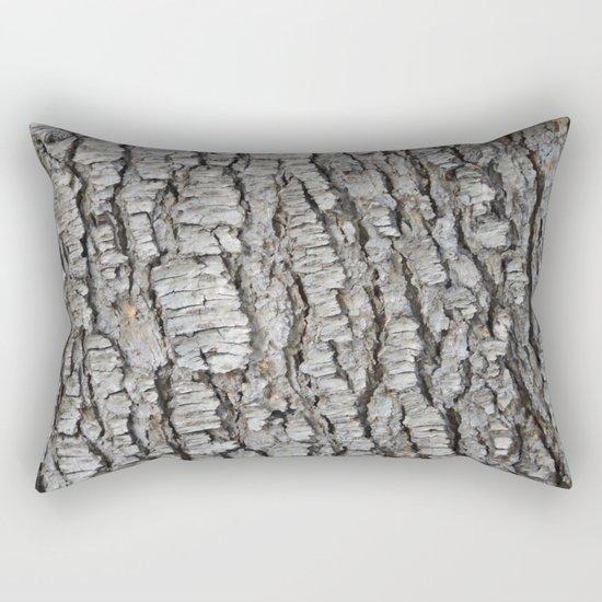 TEXTURES -- Spruce Bark Rectangular Pillow