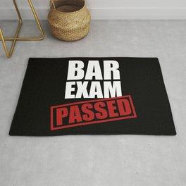 Bar Exam Passed Rug
