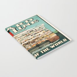Vintage poster - Cruise Ship Notebook