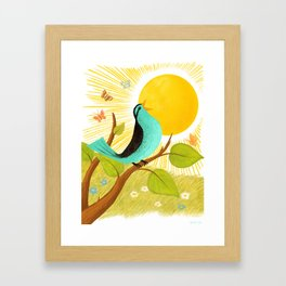 Early To Rise Framed Art Print
