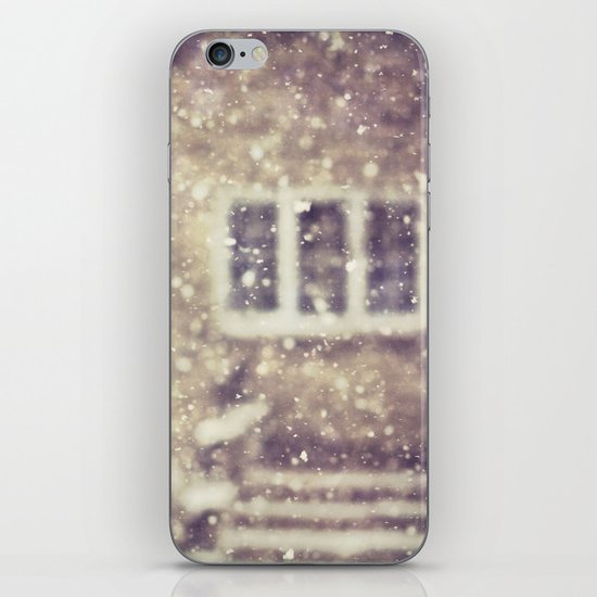 the white stuff iPhone & iPod Skin