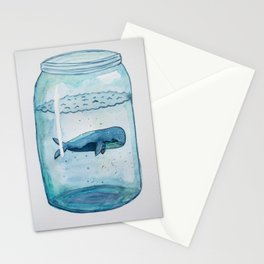 """""""He gathers the waters of the sea into jars"""" Stationery Cards"""