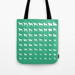 All Dogs (Mint) Tote Bag