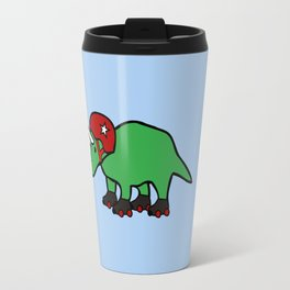 Roller Derby Triceratops Travel Mug