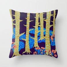 Blåbär / Blueberry Throw Pillow