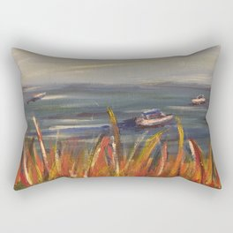 Boats on the Water Rectangular Pillow