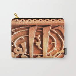 Carved in Stone  Carry-All Pouch