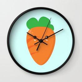 Cute Carrot Wall Clock