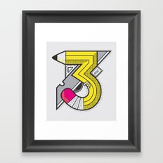 d3signer Framed Art Print