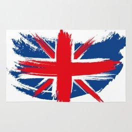 Sketched Union Jack Rug