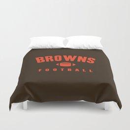 Browns Football Duvet Cover