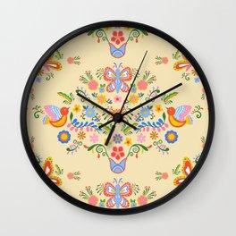 Garden Bouquet Wall Clock