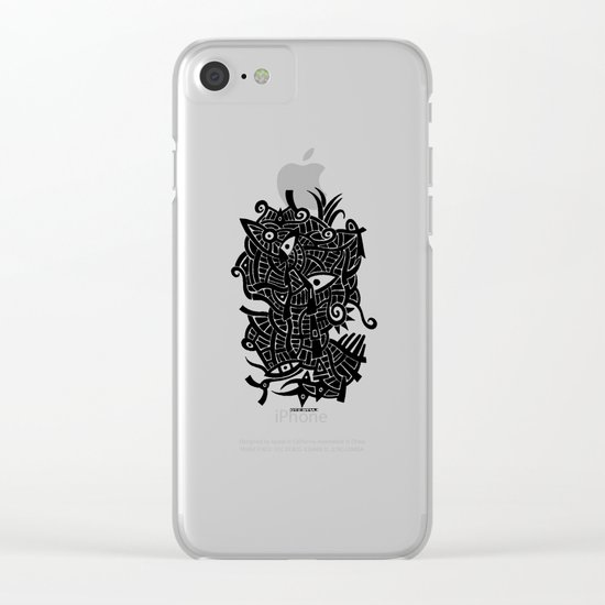 - androgynous fish - Clear iPhone Case