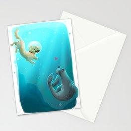 Mer-dog Stationery Cards