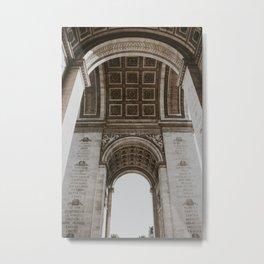 Paris Arc de Triomphe | Fine Art Travel Photography Metal Print