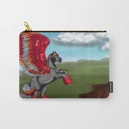 Flames and Feathers Carry-All Pouch