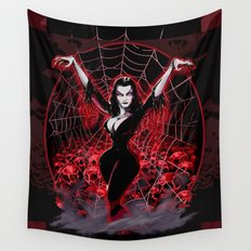 Web of Vampira Wall Tapestry