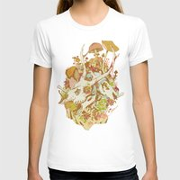spring T-shirts featuring skulls in spring by Teagan White