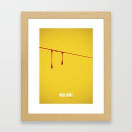 Kill Bill vol. 1 Framed Art Print