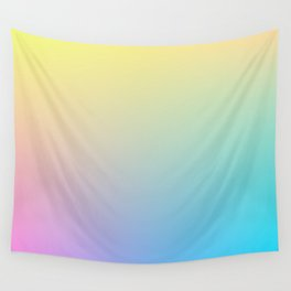 MELODY / Plain Soft Mood Color Tones Wall Tapestry