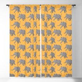Baby Elephant Blackout Curtain