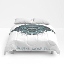 Caribbean Monk Seal Comforters