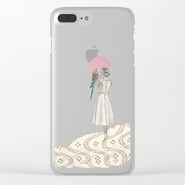 A Bird in the Hand Clear iPhone Case