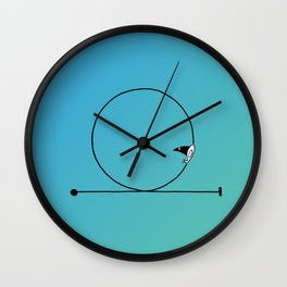 Looping Wall Clock