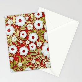 Art Flowers V3 Stationery Cards