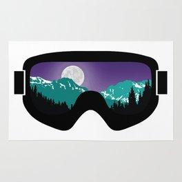 Moonrise Goggles | Goggle Designs | DopeyArt Rug