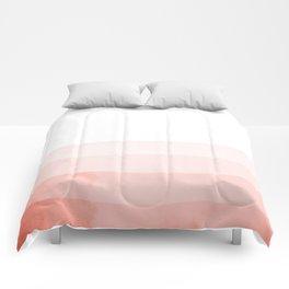 Dip Dye - Red Comforters