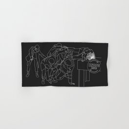 Parks and Recreation ice rink scene Hand & Bath Towel