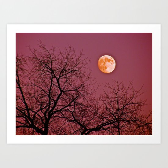 Good Night Moon Art Print