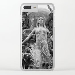 Downtown Statues Clear iPhone Case