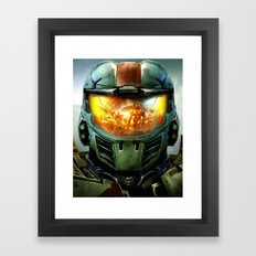 Halo Framed Art Print