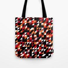 Sumi Retro Quilt Tote Bag