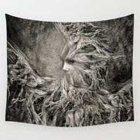 goddess Wall Tapestries featuring Greek goddess Gaia. by Viviana Gonzalez