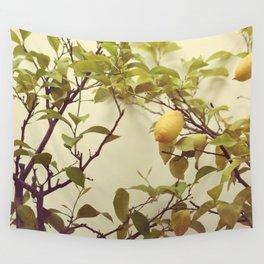 Lemon Tree Wall Tapestry